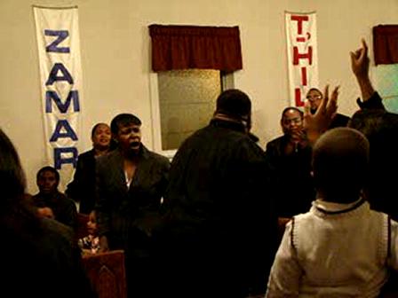 Bishop Wiley Preaching Super Bowl Service at Ishi Pentecostal Temple Winston Salem NC
