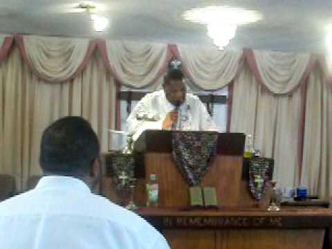 Bishop prather preaching part 1