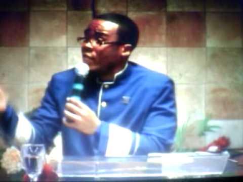 "Pastor Terrence Chandler-Harrison ""Coat or Courage"" part 1"