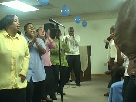 Sing again Prophet Ellis