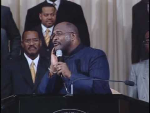 Marvin Winans Preaching COGIC Mens Conference