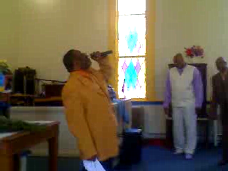 Bishop Mallory exhort