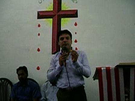 P.Shahbaz[from Queeta] shared the word of God.from