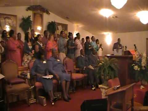 """Jesus, My Rock"", Pentecost Choir @Gospel Temple #1 Pensacola, FL."