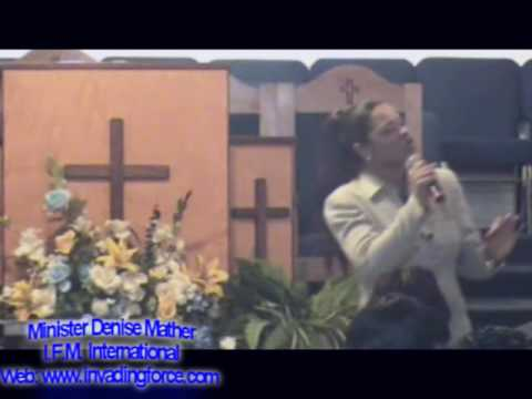 Dr. Denise Mather - Zion Baptist Cathedral