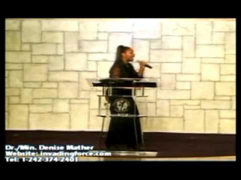 Dr. Denise Mather - Kingdom Announcement Part I