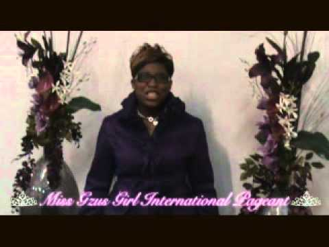 Gzus Girl International Pageant Commercial