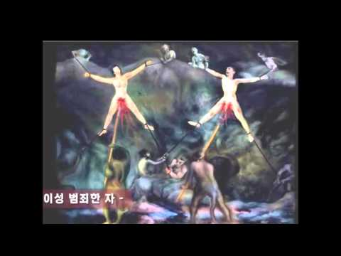 Pictures from the PIT, a young Korean artist taken to Hell