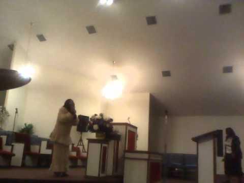 DEVISH WIGGINS AND LORAINE MORNING PREACHING APOSTLE BETTY VINES BIRTHDAY CELEBRATION 2010.wmv