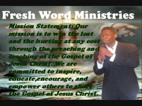 Minister A.J. Smith- A relevant word from the lord, when change seems impossible