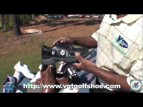 V-Groove Tool Golf Shoe