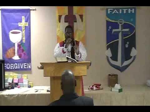 Bishop Campbell Ordination Sermon Part One