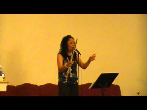 """Joyce sings """"Holy"""" at FMBC aka The House of Faith"""