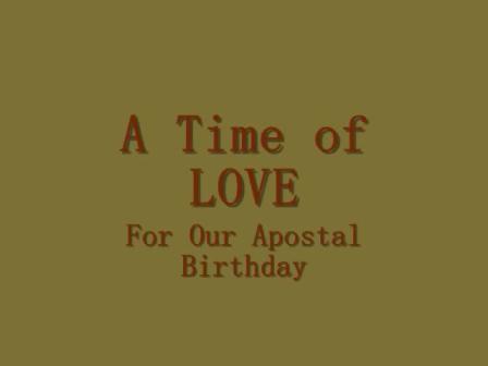 Apostal Dave Johnson Birthday dinner