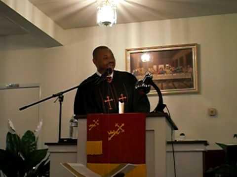 "Rev. C.A. Stewart- Pastor of Divine Faith M.B.C - Closing ""The Gospel According to Humpty Dumpty"""