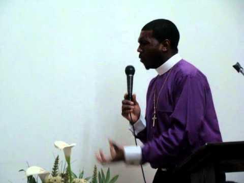 "Bishop Boyde Singletary @ Queens ""hold on""pt2"