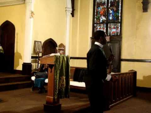 "Bishop Boyde Singletary ""it hurt me but it helped me"" pt2"