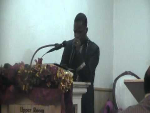 Pastor Harold L. Thomas-He knows my name-Middle