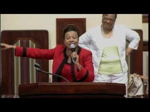 "Rev. Dr. Jasmin Sculark preaching ""I Never Lost My Praise""  Pt. 2"