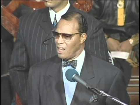 Minister Farrakhan - America Is In Trouble