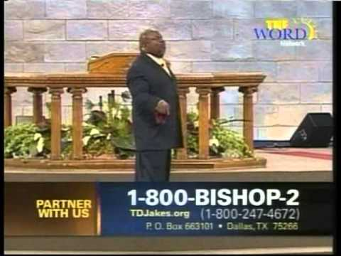 """""""Encourage Yourself"""" T.D. Jakes - 4 Apr 2011"""