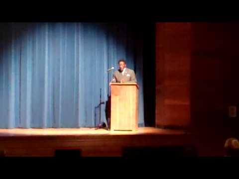 Keynote Speech~Dr. Maurice Woodard/MLK 2013