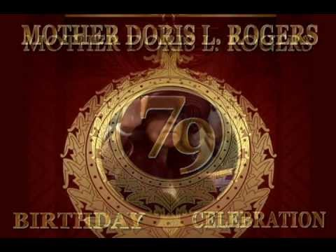 Mother Doris Roger 2013 Birthday Celebration