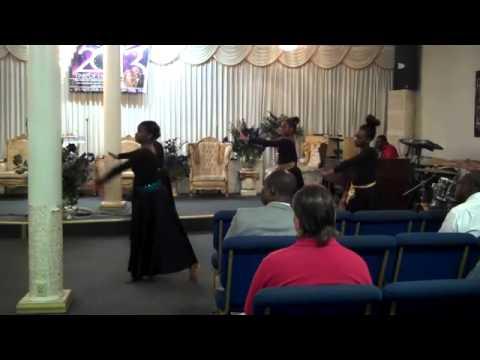 The Angels of Deliverance Praise Dancers!