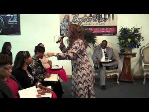"""Pastor Janice Caslin, """"You Got To Be There To Get It!"""""""