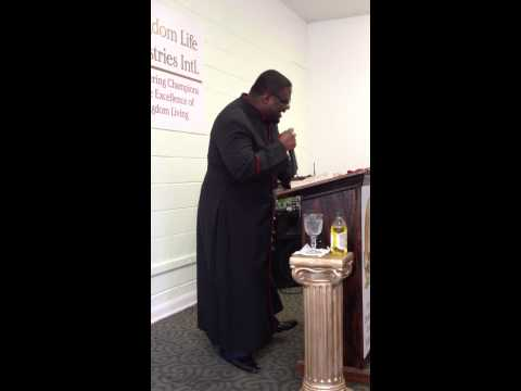 KINGDOM LIFE MIN. INTL SUNDAY, MARCH 24 2013 PASTOR RICHARD A. GROOVER