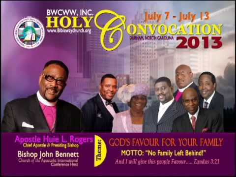BWCWW Holy Convocation 2013