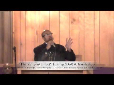 The Zeitgeist Effect- C.E. Burns Jr