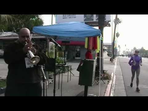 "L.A. Marathon 2013 - Gospel Stage Mile 13 -  Fitz Houston ""Live""  Excerpt"