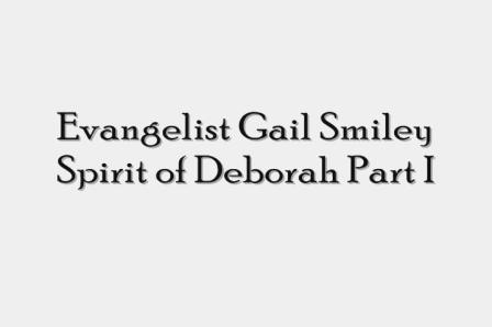 Evangelist Gail Smiley