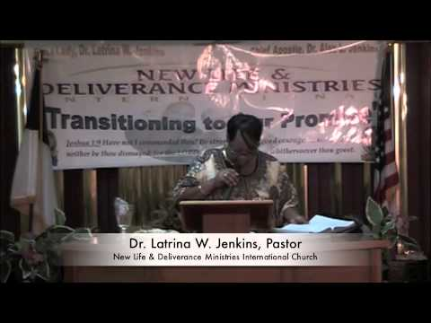 Dr Latrina W Jenkins, Pastor Mid-Week Embracing the Promise Service