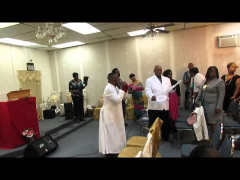 Temple of Praise Sanctuary Church of Christ Written in Heaven on Easter 2014 pt 2
