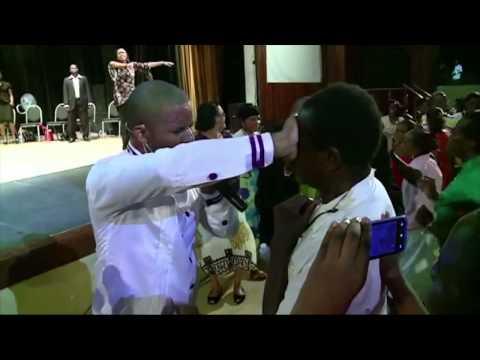 Blind Man Healed In Guyana- Prophet Janal Browne