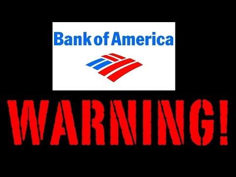Bank Of America Warning