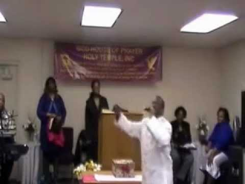 """Apostle Harry L. Jackson- """"Healng From the Spirit of Rejection"""""""