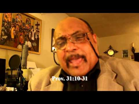 Bible Study # 44  - How To Be A Godly Man of God - MInister Fitz