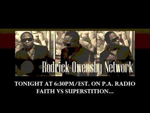 FAITH VS SUPERSTITION TONIGHT 6:30 PM  www.blogtalkradio.com/Prophecy Alive