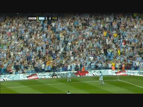 Robinho Manchester City 08/09 All Goals