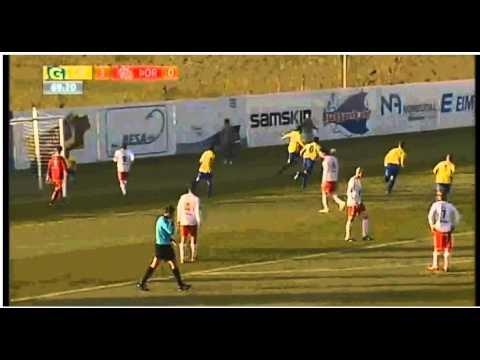 Best Football Penalty Ever! (Icelandic Football league) [Good quality]