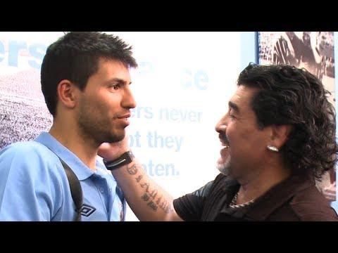 INSIDE CITY 34: Maradona visits Aguero at The Derby
