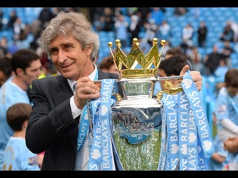 Manuel Pellegrini talks to Sky Sports after winning Premier League title in first season