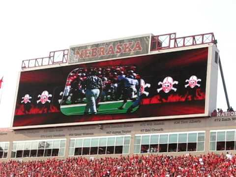 2009 Huskers vs. Florida Atlantic Tunnel Walk