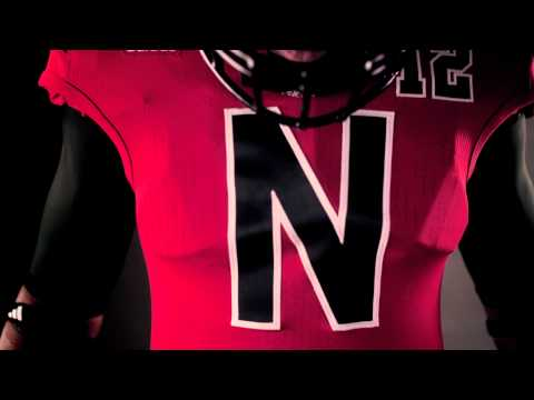 "adidas Football: 2012 Nebraska ""UNRIVALED"" TECHFIT Uniform"