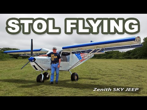 Flying the Zenith STOL to Mt. Eagles Escape