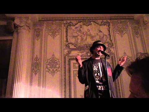 Nathaniel Watts and Adam Wesley Brown: Kill the Critters live @ Bowery Poetry Club, NYC