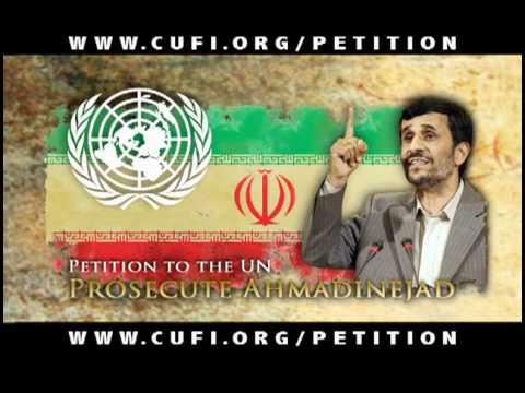 Indict Ahmadinejad